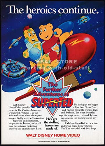 The Further Adventures of SuperTed (1989-)