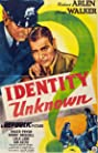 Identity Unknown (1945) Poster