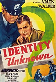 Identity Unknown Poster