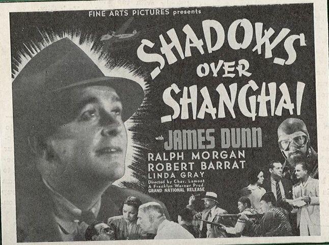 James Dunn, Robert Barrat, Lynda Grey, Ralph Morgan, and Paul Sutton in Shadows Over Shanghai (1938)