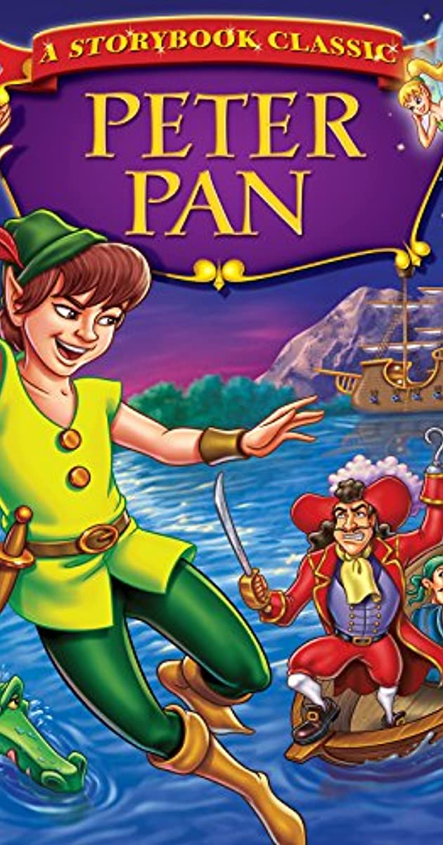 It is a picture of Playful Peter Pan Picture