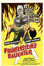 Frankenstein's Daughter Poster