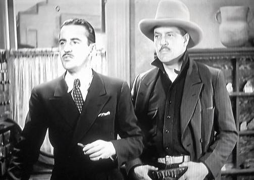 Stanley Blystone and Eddie Phillips in Cross Fire (1933)