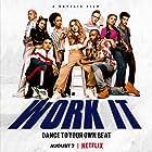 Indiana Mehta, Sabrina Carpenter, and Liza Koshy in Work It (2020)