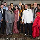 Some of the cast and crew at the Banger premier