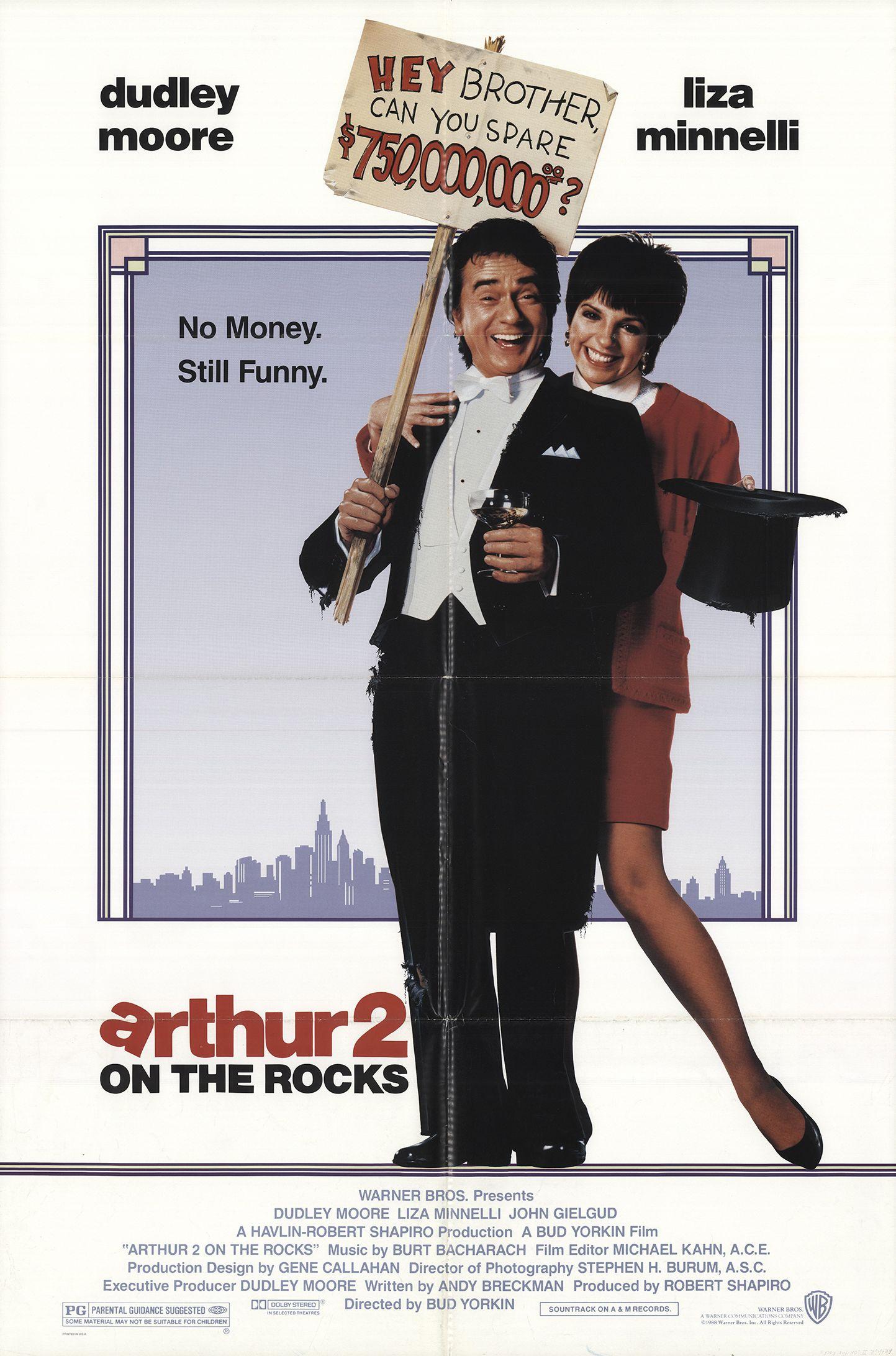 Arthur 2: On the Rocks (1988)