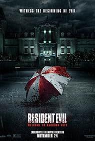 Movie Poster for Resident Evil.