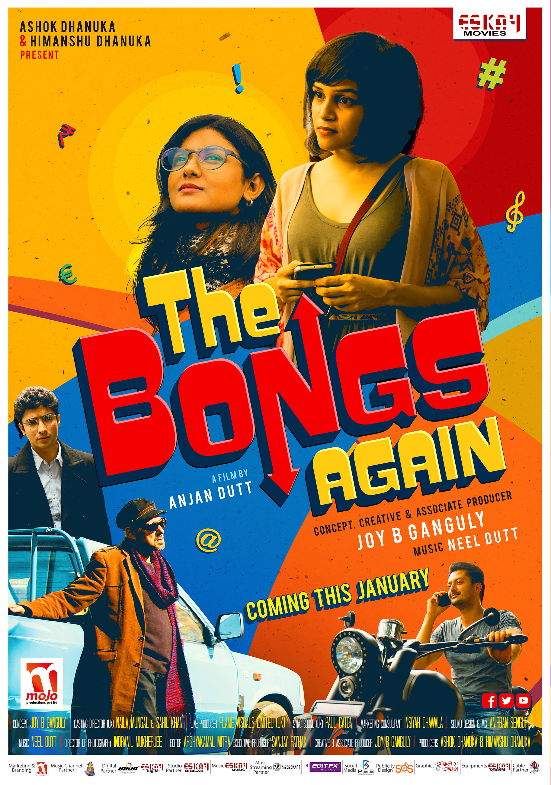 The Bongs Again 2017 Bengali 720p HEVC HDRip Bengali 650MB