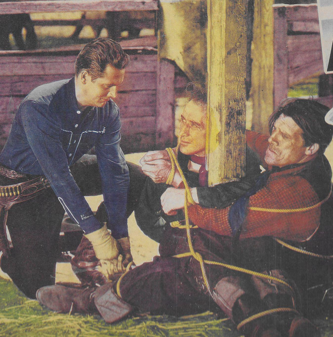 Robert Allen, Jack King, and Bob Kortman in The Rangers Step In (1937)