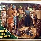Brian Donlevy, Abner Biberman, Maria Montez, and Ignacio Sáenz in South of Tahiti (1941)