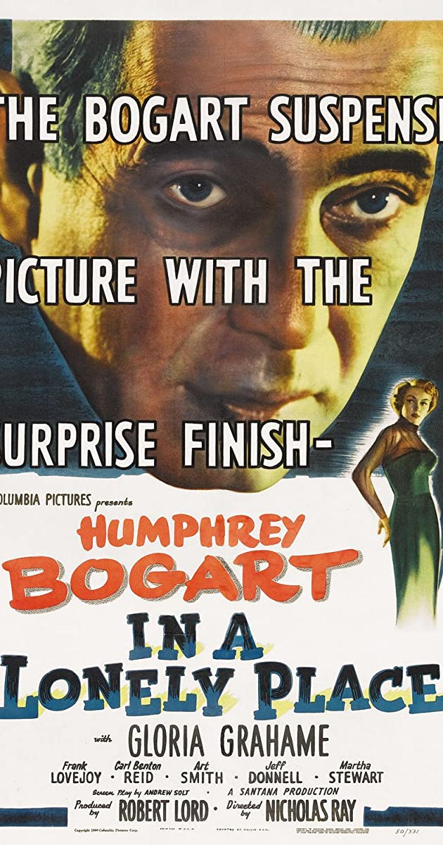 Subtitle of In a Lonely Place