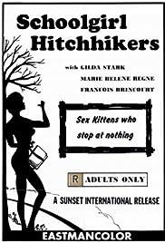 Schoolgirl Hitchhikers Poster
