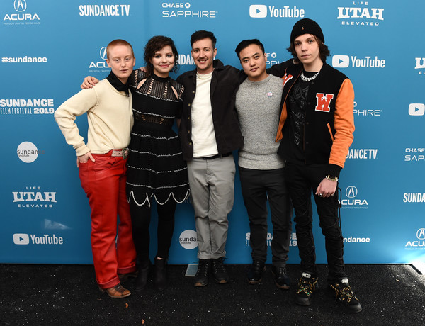 Leo Sheng at the world premiere of 'Adam' at the Sundance Film Festival 2019