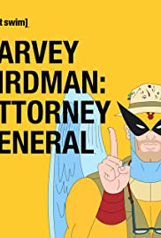 Harvey Birdman: Attorney General Poster