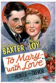 To Mary - with Love Poster