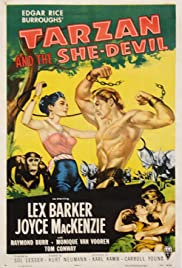 Tarzan and the She-Devil Poster