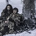 Ellie Kendrick and Isaac Hempstead Wright in Game of Thrones (2011)