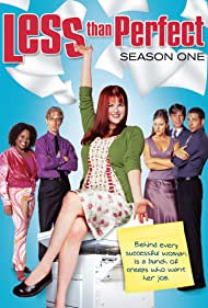 Eric Roberts, Andy Dick, Andrea Parker, Sara Rue, Sherri Shepherd, and Zachary Levi in Less Than Perfect (2002)