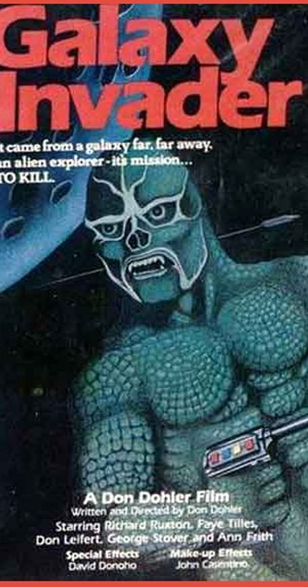 The Galaxy Invader (Video 1985) - The Galaxy Invader (Video