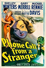 Phone Call from a Stranger(1952) Poster - Movie Forum, Cast, Reviews