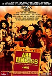 All Access: Front Row. Backstage. Live! Poster