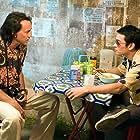 Nicolas Cage and Shahkrit Yamnarm in Bangkok Dangerous (2008)