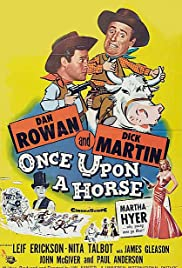 Once Upon a Horse... Poster