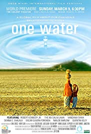 One Water Poster