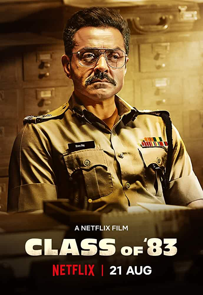 Class Of 83 (2020) NF WEB-DL Multi Audio [Hindi – Tamil – Telugu]x264 AAC Msub