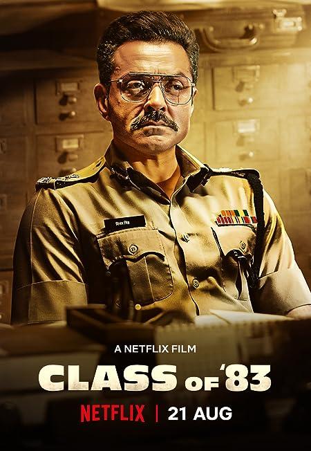 Class of 83 (2020) Dual Audio Netflix WEB-DL - 480P   720P   1080P - x264 - 200MB   750MB   3GB - Download & Watch Online  Movie Poster - mlsbd