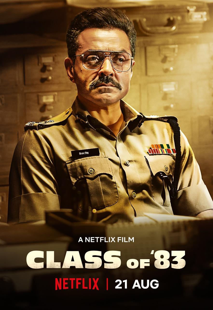Class of 83 (2020) Dual Audio Hindi+English Full Movie 480p, 720p, 1080p Download