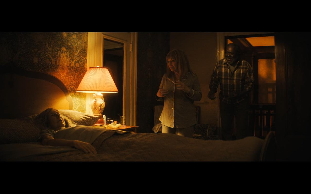 Lin Shaye, Frankie Faison, and Jacki Weaver in The Grudge (2020)
