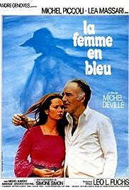 La femme en bleu Poster