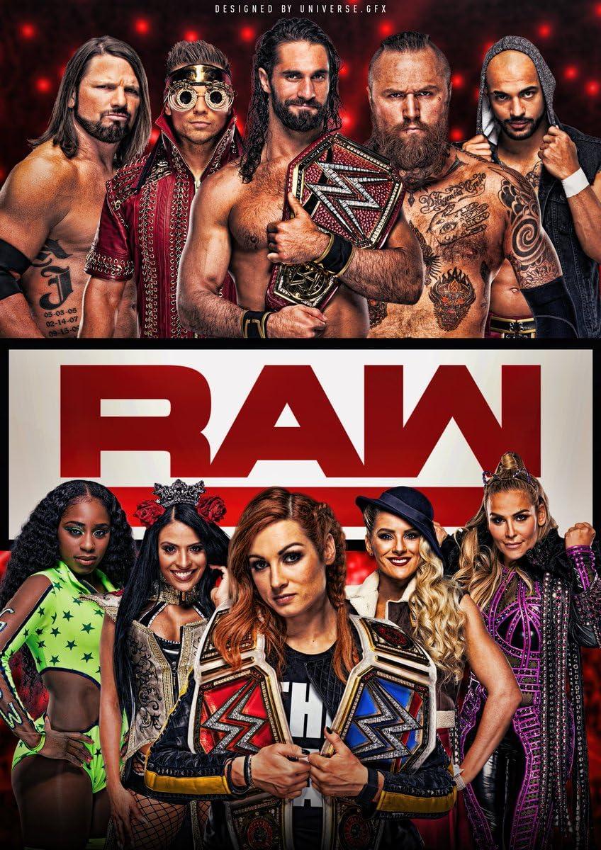 WWE RAW – Season 26 Episode 35
