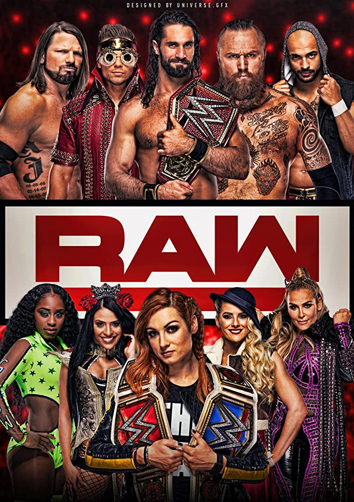 WWE Monday Night Raw 12th October 2020 HDRip 480p Download