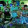 James Cameron, Sigourney Weaver, Joel David Moore, and Sam Worthington in Avatar (2009)