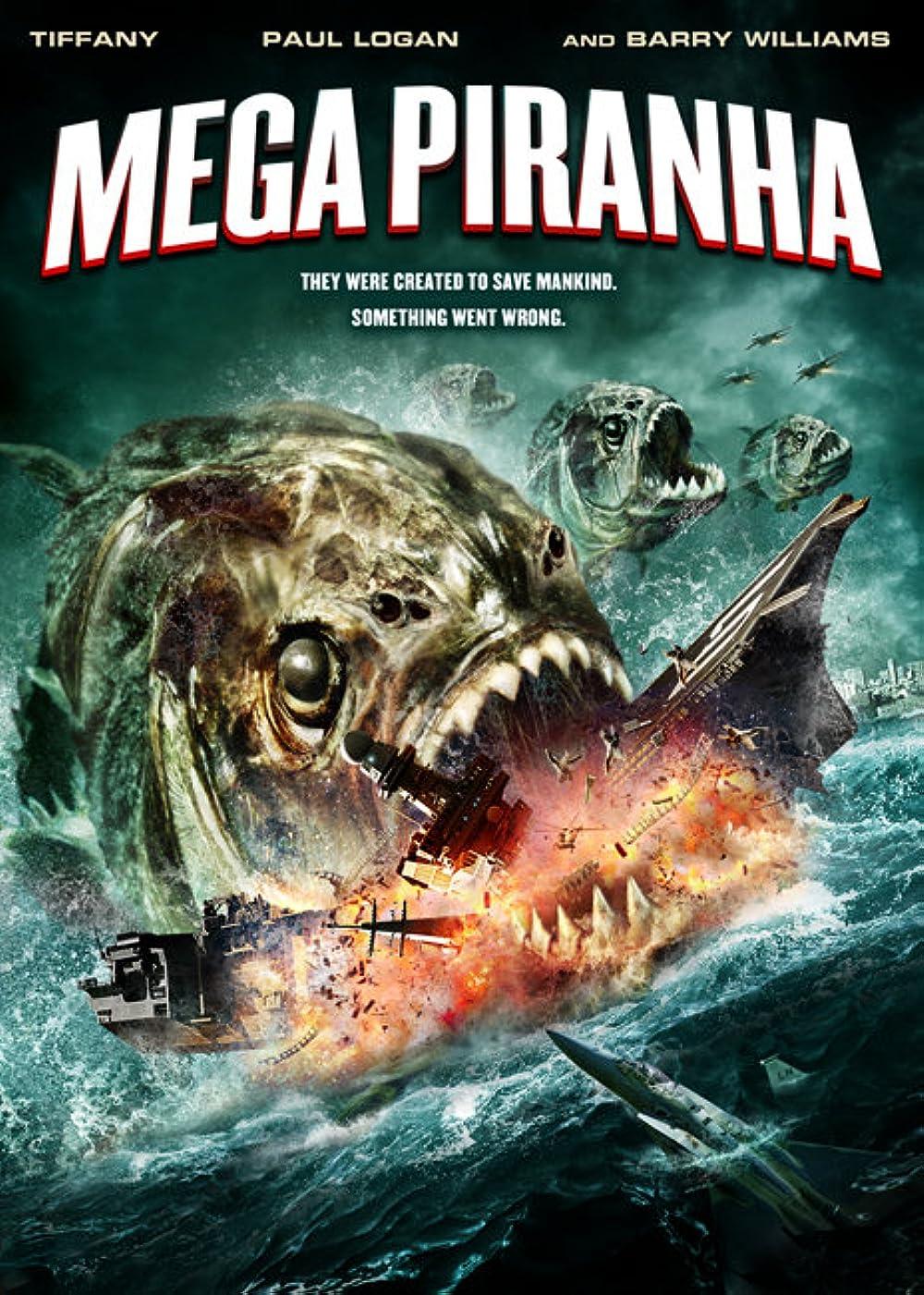 Mega Piranha 3d