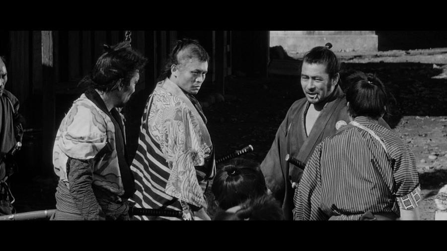 Toshirô Mifune in Yôjinbô (1961)