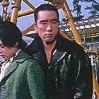 Yukio Mishima and Ayako Wakao in Karakkaze yarô (1960)