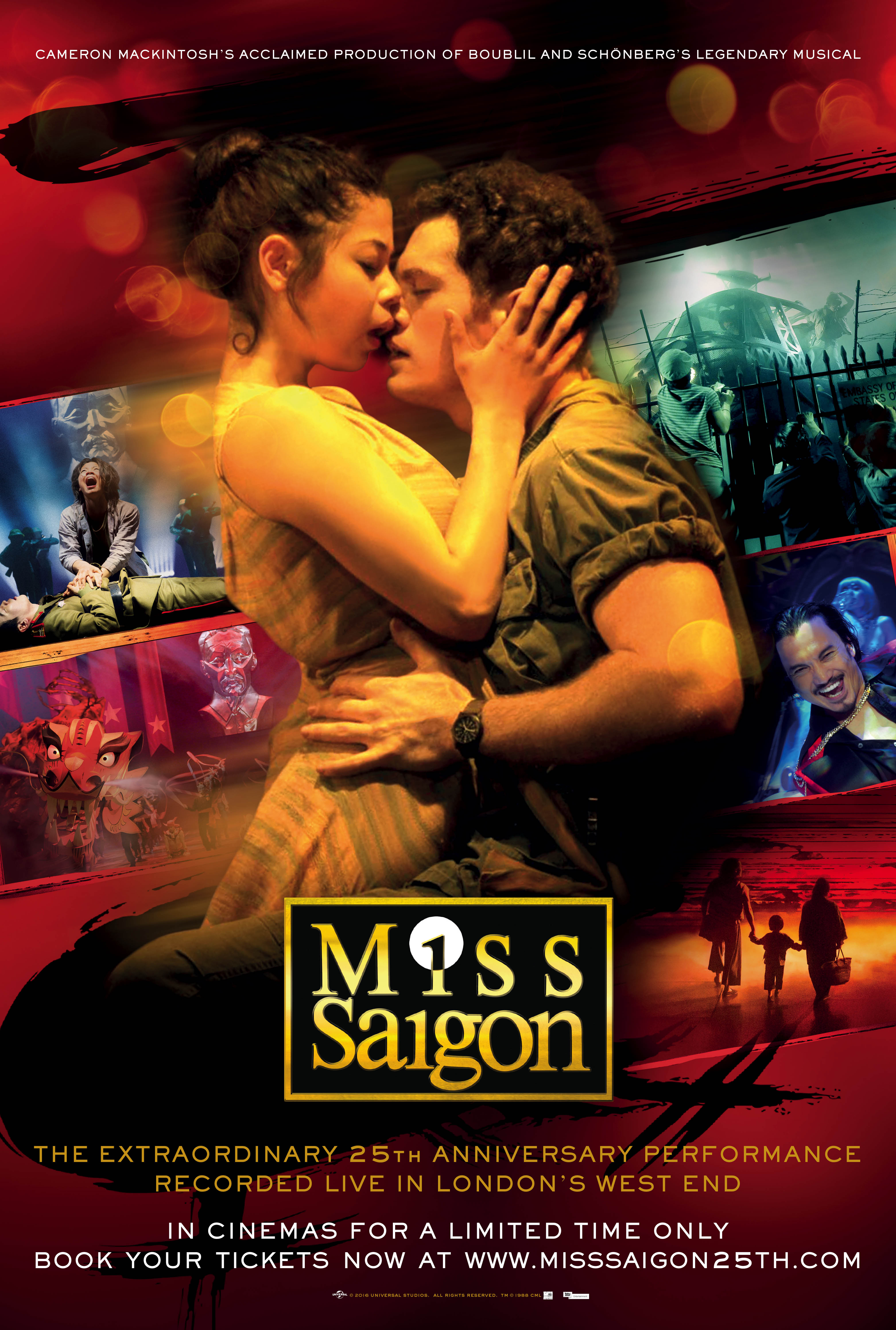 Miss Saigon: 25th Anniversary (2016) - IMDb