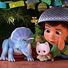 Kristen Schaal, Emily Ricks Hahn, and Emma Hudak in Toy Story That Time Forgot (2014)