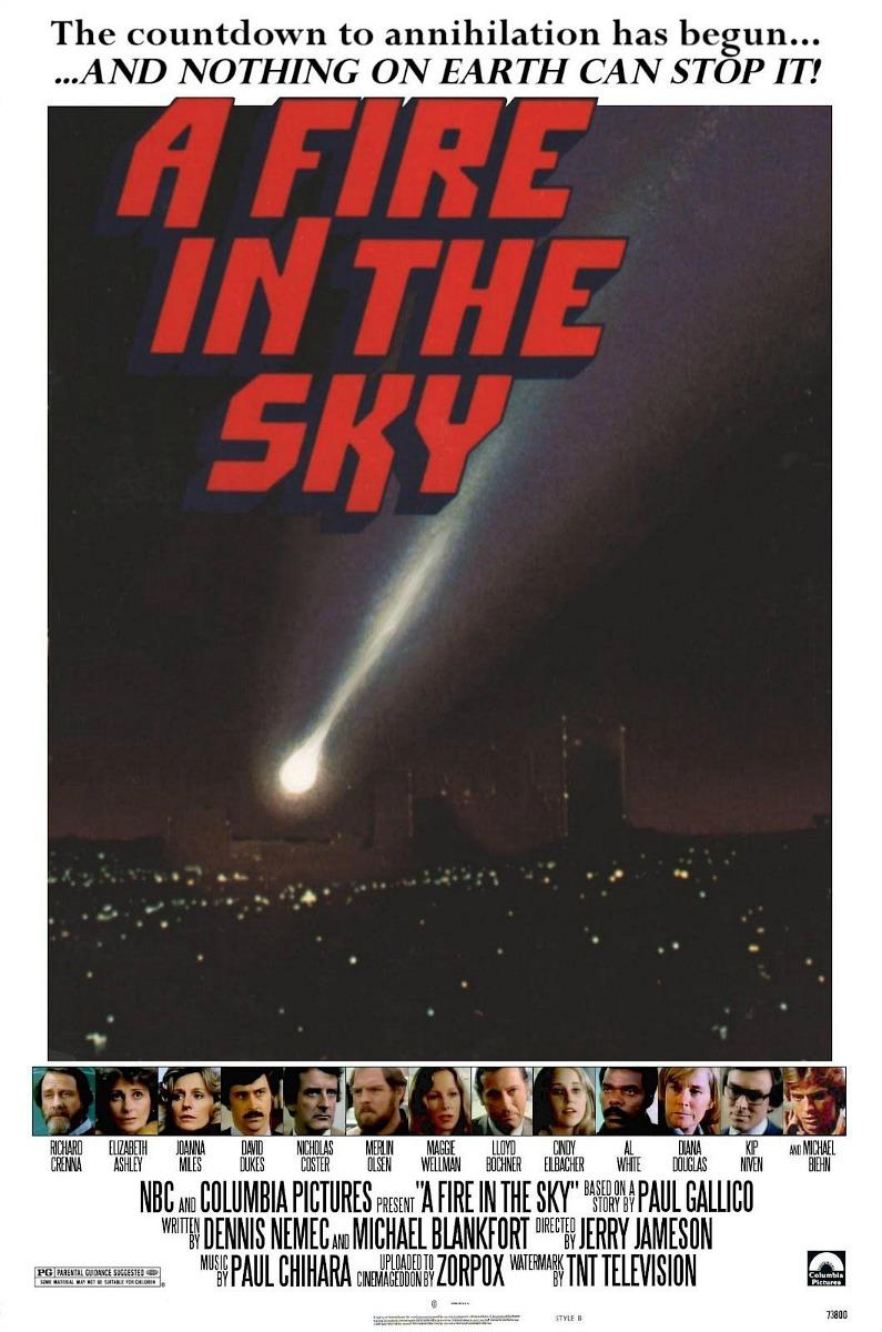 A Fire in the Sky (TV Movie 1978) - IMDb