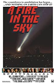 A Fire in the Sky Poster