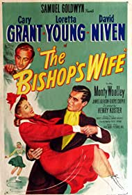 Cary Grant, David Niven, and Loretta Young in The Bishop's Wife (1947)