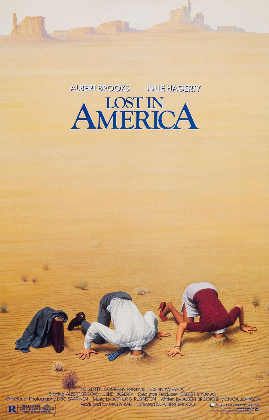 Paklydę Amerikoje (1985) / Lost in America (1985)