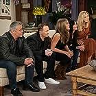 Jennifer Aniston, Courteney Cox, Lisa Kudrow, Matt LeBlanc, and Matthew Perry in Friends: The Reunion (2021)