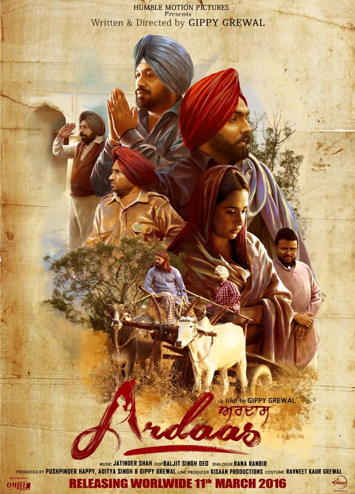 Ardaas 2016 Punjabi 720p HDRip ESubs 900MB Download