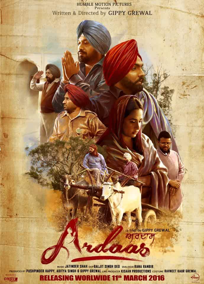 Ardaas 2016 Punjabi 720p HEVC HDRip x265 AAC ESubs Full Punjabi Movie [700MB]