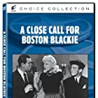 Claire Carleton, Chester Morris, and George E. Stone in A Close Call for Boston Blackie (1946)