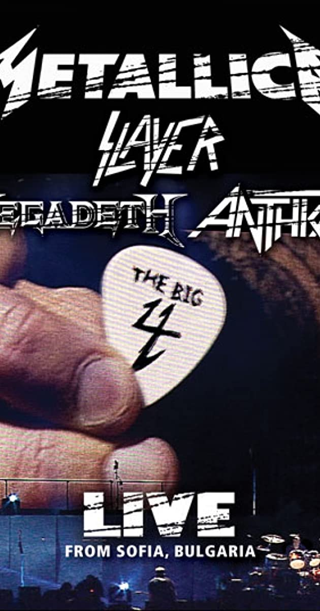 Subtitle of Metallica/Slayer/Megadeth/Anthrax: The Big 4: Live from Sofia, Bulgaria
